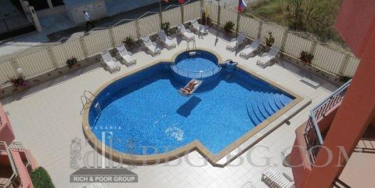 Топ цена:32 000евро,апартамент с 2 спални в Слънчев Бряг
